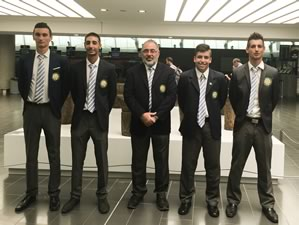 Cyprus National Team qualifies for the match play stage of the European Mens Team Shield Championship
