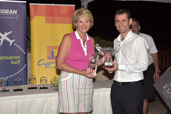 Back to back wins for Marilei Baxter in the Cyprus Senior Ladies Open